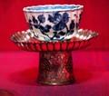 Tibetan teacup and stand