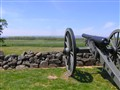 Union line awaiting Pickett's charge