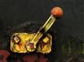 handle of railway wagon