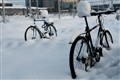 Cycles in the snow