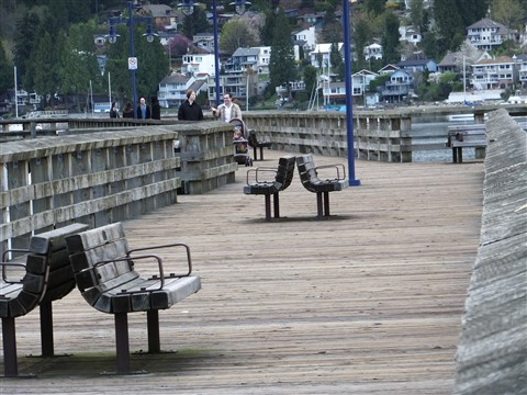 Overcast - Pier at Rocky Point ~ Port Moody, BC