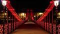 Carlton place suspension footbridge