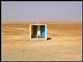water closet in Sahara