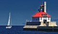 Lighthouse & Sailboat