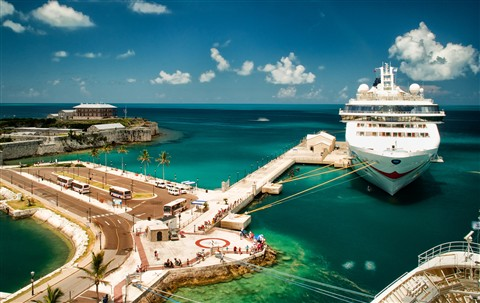 Royal Dockyard in Bermuda