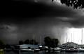 Thunderstorm coming into Sackets Harbor, NY