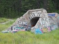Found this old tunnel on the side of the road, but have no idea what it was used for, besides being used for graffiti.