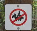 Do not ride the dinosaurs