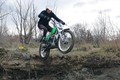 Launching an Ossa Trials Motorcycle