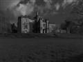 Gothic castle BW