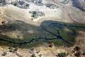 Aerial Landscape of Okawango Delta in Botswana