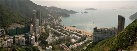 From top of the Repulse Bay - HONG KONG