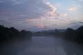fog on the river inn