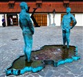 Prague's Urinating Statues