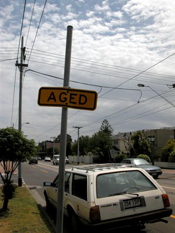 Sign of age