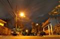 Street dawn