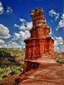 Lighthouse Hoodoo, Palo Duro Canyon State Park, Texas