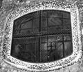 Gaudi big fenced window
