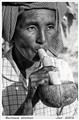 Burmese Woman Smoking