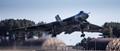 4 Rolls-Royce Olympus turbojets thrust Vulcan XH558 to the sky.