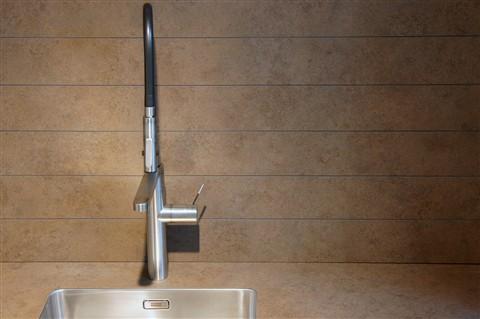10 mm Compact Laminate worktop and backsplash