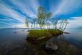 Lake Inari scene