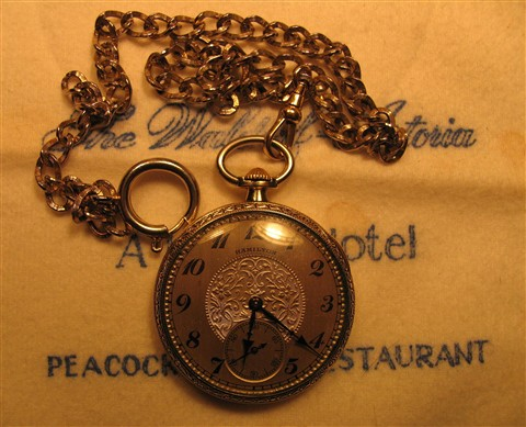 ~ Art Deco GF Hamilton Pocketwatch