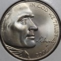 2005-P Jefferson Nickel