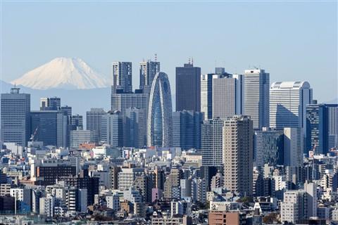 041_Fuji-san_&_grattacieli_Shinjuku_da_Bunkyo_Civic_Center