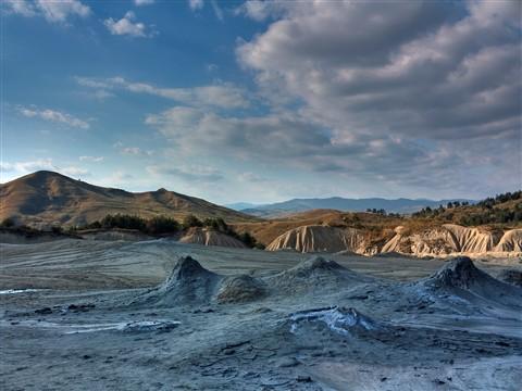 Mud vulcano Buzau