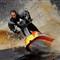 Freestyle jet skier
