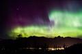 Aurora Borealis & shooting star over Fernie, B.C. just last week.