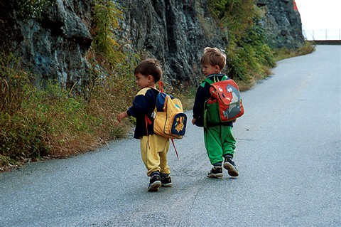 # 1.michael+samuel,on their way to kindergarden,aug