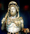 Roman Emperor dressed as Hercules