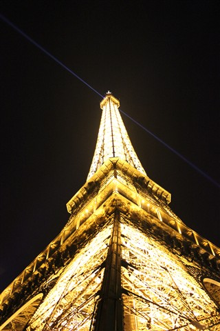 The Eifeltower at night 1