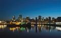 Montréal à la tombée de la nuit