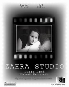 ZAHRA STUDIO BANNER