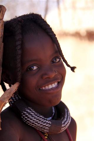 Himba girl-