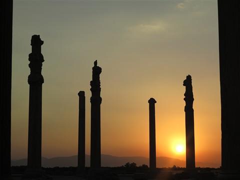 Persepolis Ancient City Ruins Ruinen Antik Fars Province Iran