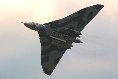 Vulcan at RAF Waddington