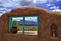 View of Taos Mt.