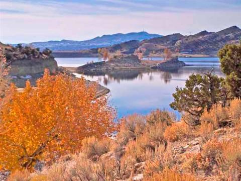 Steinaker Reservoir, Utah