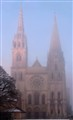 Chartres Foggy Morn