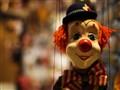 A clown in Prague