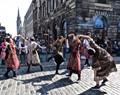 Edinburgh Fringe Festival performers
