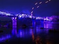 Blue Bridge over the River Kwai, Kanchanaburi, Thailand