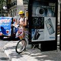 Ciclistas desnudos, Madrid