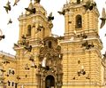 Cathedral of St. Francis (with birds), Lima, Peru