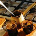 Turkish coffee's ready!