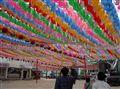 paper memorial lanterns, Seoul
